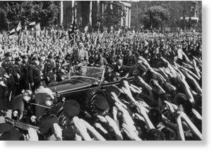 hitler crowd