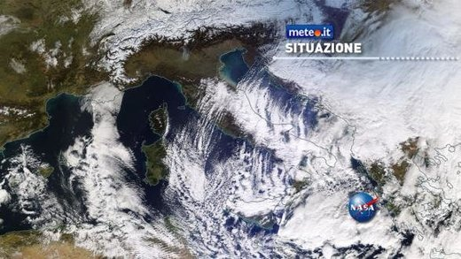 Meteo Italia Gelo Lake Effect Snow