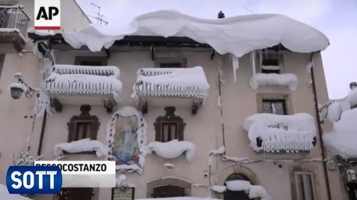 January 2017 Summary snow italy