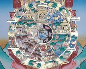 Samsara, the buddhist cycle of reincarnation and its six realms
