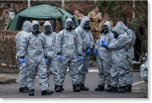 British military salisbury Skripal