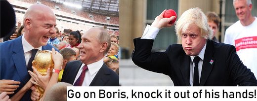 boris johnson world cup