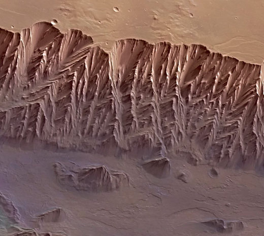 Bank of Valles Marineris